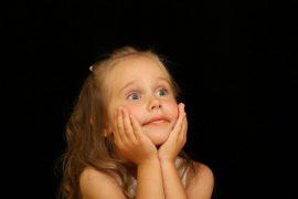 girl-child-astonished-surprised-joy-portrait visual hunt