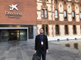Estudiante UPR en Espana