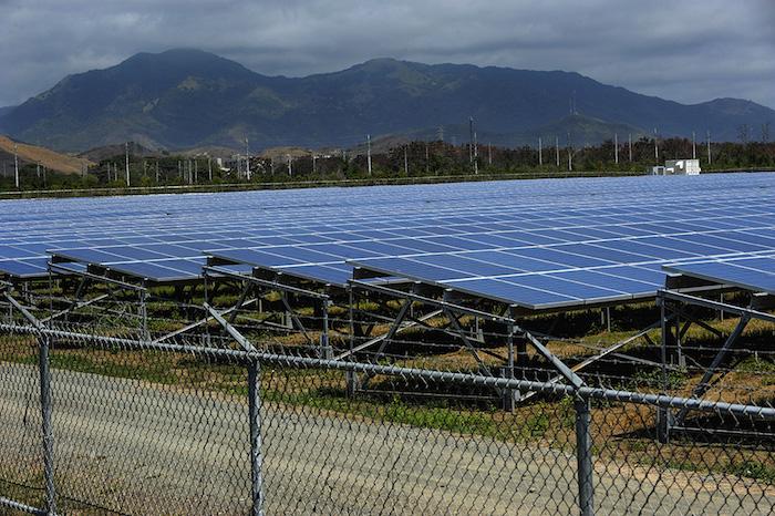Parque de energía solar, AES Ilumina, en Guayama/4 de marzo 2013